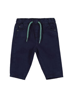 Navy pants FUJOPAN4 / 19SG1034PAN713