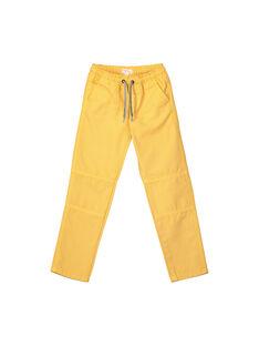 Yellow pants FOLIPAN2 / 19S90222PANB107