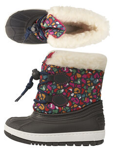 Navy Mountain boots GBFMONTNEA / 19WK37W1D3N070