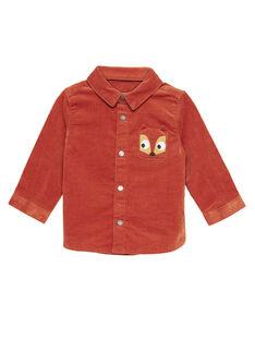 Dark orange Shirt GUBRUCHEM / 19WG10K1CHM408