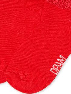 Red SOCKS LYIJOSOQDEN4 / 21SI0945SOQF505