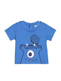 Blue T-shirt FUJOTI4 / 19SG1034TMC201