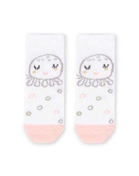 White socks birth girl LOU2CHO1 / 21SF40I2SOQ000