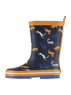 Boys' wellies FGBPCOLO / 19SK36X2D0C070