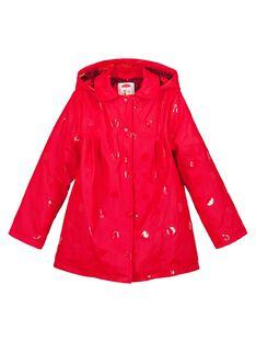 Red Rain coat GASANIMPER / 19W90182IMP050