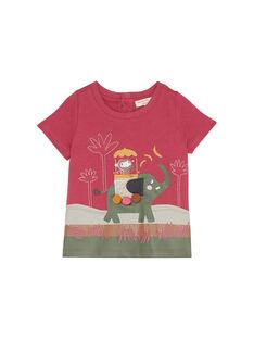 Rose wood T-shirt JUDUTI2 / 20SG10O2TMC312