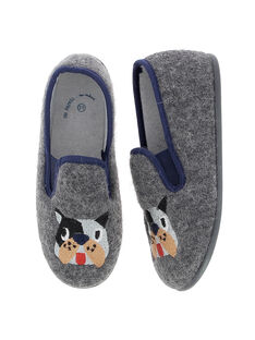 Boys' slip-on slippers DGSGCHIEN / 18WK36W4D0B941