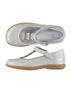 White Salome shoes FFSALCOEUR / 19SK3541D13000