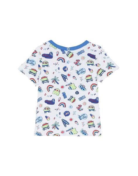 White T-shirt JUQUATI3 / 20SG10R3TMC000