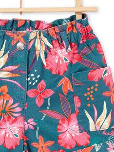 Short with Hawaiian flower print LABONSHORT3 / 21S901W1SHO716