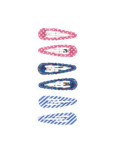 Set of girls' hair clips FYACOCLIC2 / 19SI01V4BRT099
