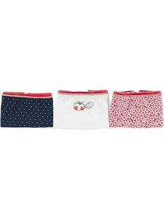 Pack of girls' shorties CEFAHOTLIB / 18SH11V1SHY000