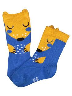 Boys' printed mid length socks GYUBLECHO / 19WI1091SOQC232