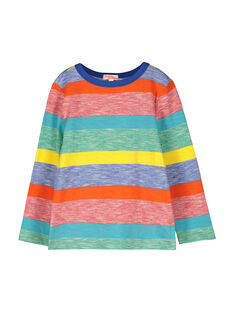 Boys' long-sleeved T-shirt FOCOTEE1 / 19S90281TML099