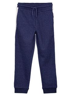 Heathered blue Jogging pant GOJOJOB4 / 19W90231D2A222
