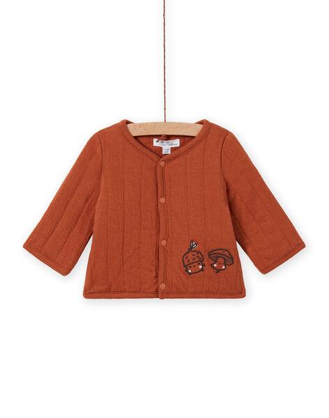 Brown long sleeve cardigan birth mixed MOU1GIL1 / 21WF0542GILI810