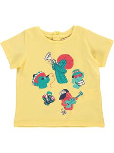 Baby boys' short-sleeved T-shirt CUPITI2 / 18SG10I2TMC106