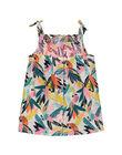Baby girls' printed dress FICUROB2 / 19SG09N2ROB000
