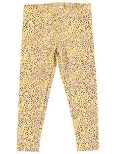 Yellow Leggings JYATROLEG1 / 20SI01F1CALB102