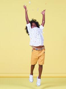 White printed shirt child boy LOJAUCHEM2 / 21S902O1CHM000