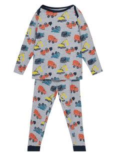 Heather grey Pajamas JEGOPYJAOP / 20SH1225PYJ943