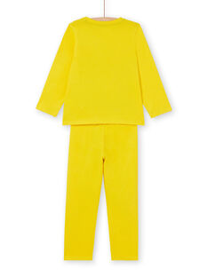 Yellow PAJAMAS LEGOPYJMAN4 / 21SH12S4PYGB105