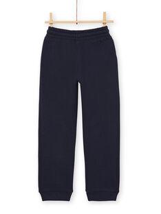 Jogging bottoms - child boy - midnight blue LOJOJOB1 / 21S90242JGB705