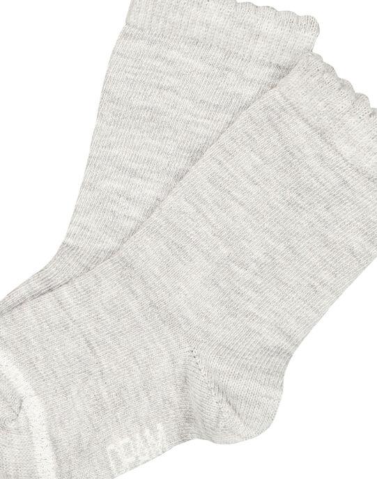 Heather grey Socks GYIESCHO3 / 19WI09U5SOQ943