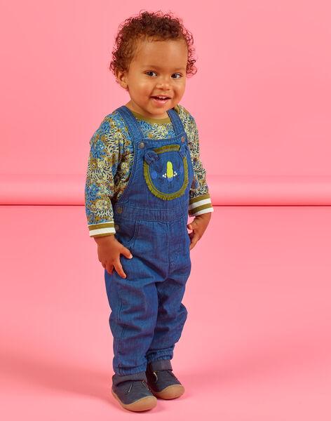 Baby boy lion head animation denim overalls MUKASAL / 21WG10I1SALP274