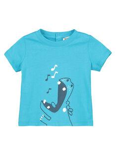 Baby boys' short-sleeved T-shirt FUJOTI7 / 19SG10G2TMC209