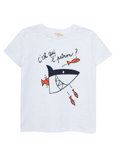 White T-shirt JOBOTI7 / 20S902H7TMC000