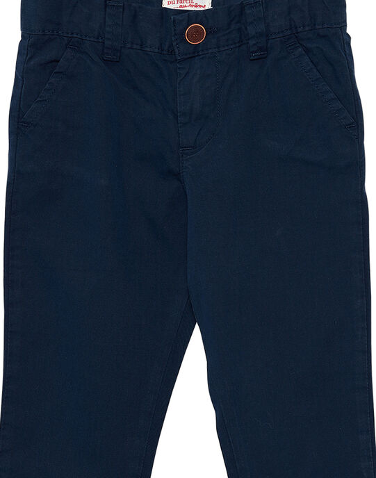Navy Pants JOJOPACHI2 / 20S90242D2B705