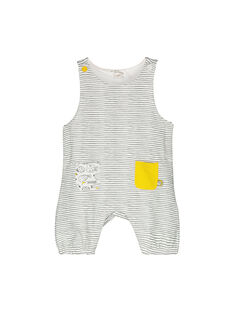 Unisex babies' padded dungarees FOU1SAL / 19SF0511SAL099