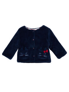 Navy Cardigan JIGRACAR1 / 20SG09E2CAR070