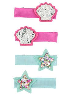 Multicolor Hair clip FYANECLIC2 / 19SI01V6BRT099
