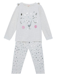 Heathered off white Pajamas JEFAPYJPAN / 20SH11C1PYJ006