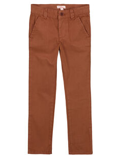Light brown Pants GOJOPACHI2 / 19W90246D2B804