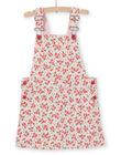 Dress dungarees with floral print LAROUROB2 / 21S901K2ROBD326