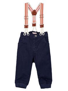 Navy pants GUSANPAN1 / 19WG10C1PAN070