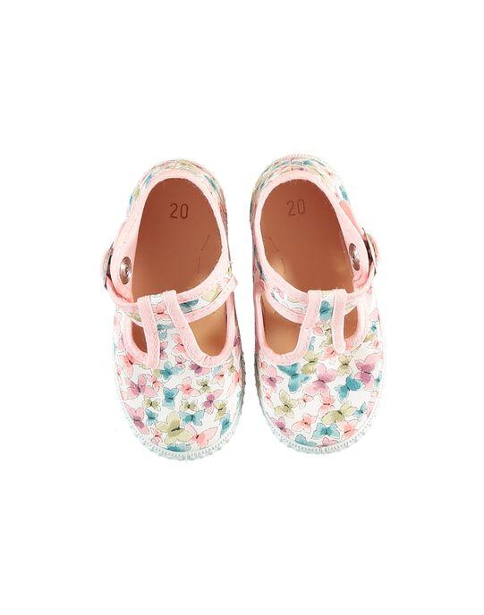 Multicolor Salome canvas shoes JBFSALFLEU / 20SK37Z1D17099