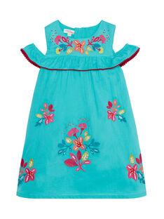 Medium turquoise Dress JABOROB2 / 20S901H2ROB209