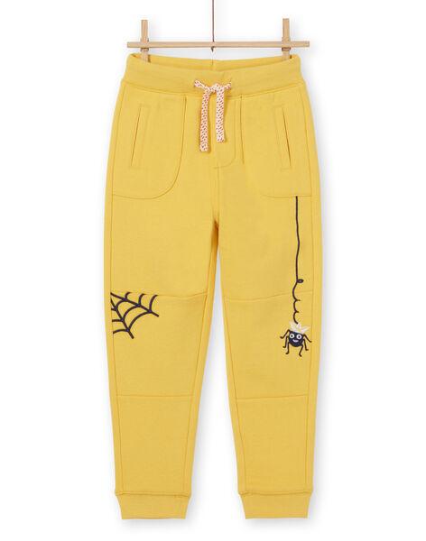 Sunny yellow JOGGING PANT LOROUJOG / 21S902K1JGB102