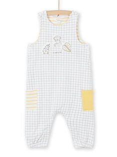 Padded dungarees with 3D animations on the front LOU1SAL1 / 21SF04H1SAL000
