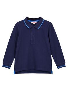 Navy Polo shirt GOJOPOL1 / 19W90231D2D070