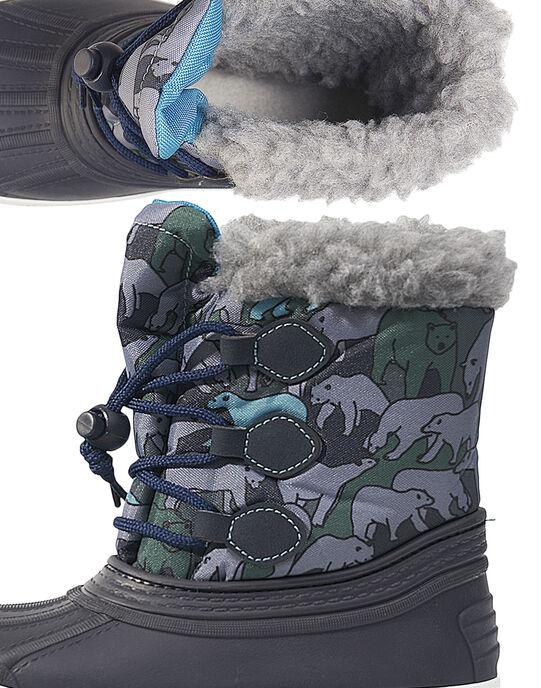 Navy Mountain boots GGMONTNEA / 19WK36W2D3N070