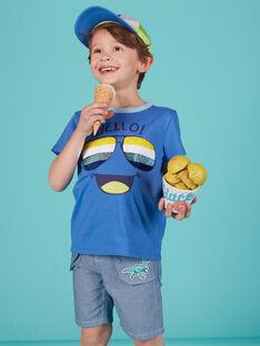 Sky blue T-shirt JOQUATI1 / 20S902R3TMCC201