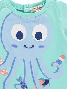 Baby boys' short-sleeved T-shirt CUBUTI2 / 18SG10K2TMC630