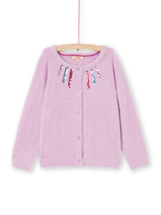 Long sleeve feather knit cardigan LABLECAR / 21S901J1CAR320