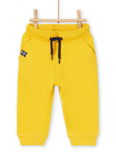 Baby boy yellow pants LUJOPAN1 / 21SG1034PAN106