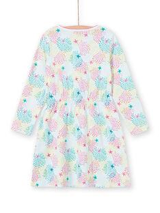 Children's nightgown girl in multicolored printed jersey LEFACHUSTA / 21SH1153CHN000